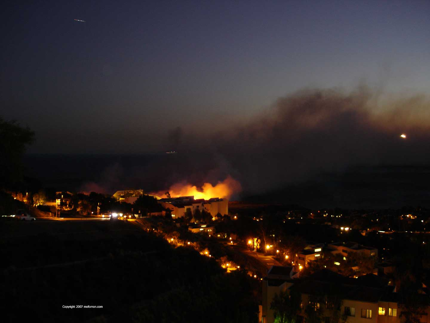 Malibu Caught Fire - Early Shot