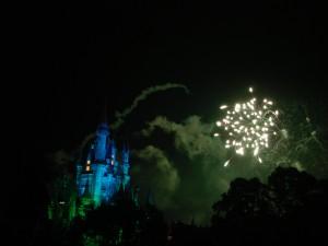 Castle + Fireworks, Disneyworld 2006