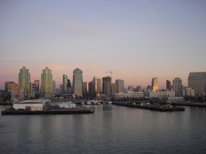 Picture Of The Day San Diego Skyline