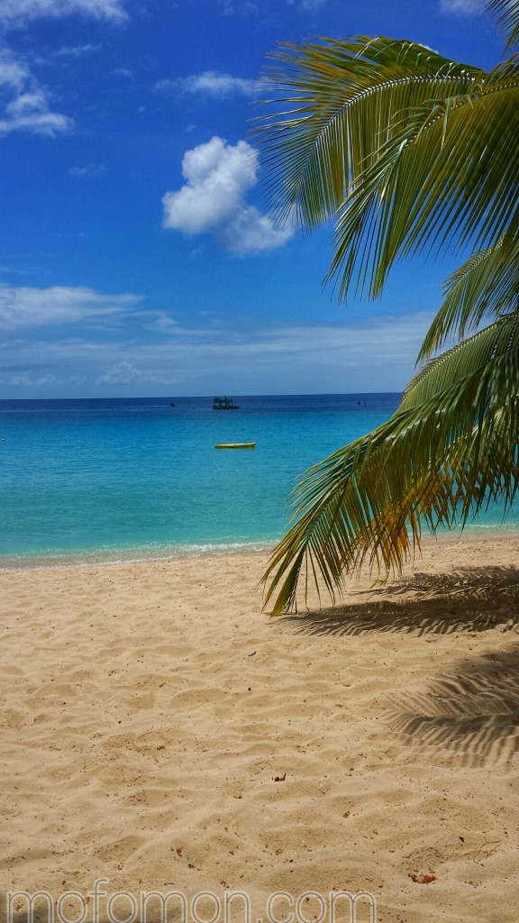 Perfect beach in perfect Barbados